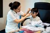 Près de 40% des enfants des villes souffrent de troubles de la vision