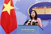 L'opération des observatoires de la Chine à Truong Sa viole la souveraineté du Vietnam