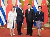 Xi Jinping s'entretient avec le président cubain pour promouvoir les relations bilatérales