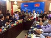 Vietnam et Cambodge proposent de rehausser une porte frontalière internationale