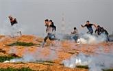 Dix-huit Palestiniens blessés par des tirs israéliens