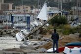 Vigilance rouge en Corse: vols annulés, transports interrompus, population confinée
