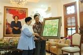 L'ambassadeur vietnamien en Indonésie rencontre la cheffe du PDI-P