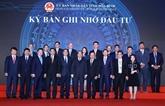 Hoà Binh signe des accords d'une valeur de plusieurs milliards de dollars