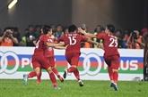 Match nul entre le Vietnam et la Malaisie lors du match aller en finale