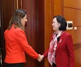 Une délégation du Parti du nouvel Azerbaïdjan en visite au Vietnam