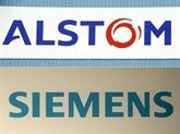 Fusion: Alstom et Siemens ont déposé à Bruxelles des compensations