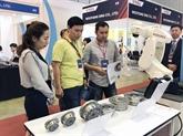 Ouverture des expositions internationales sur les machines industrielles au Vietnam