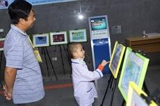 Lexposition Green Hope au chevet des patients pédiatriques