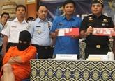 Indonésie: cinq étrangers arrêtés à Bali pour possession de drogue