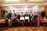 Des établissements vietnamiens honorés par la JICA