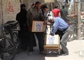 Syrie: l'ONU autorise pour un an supplémentaire l'aide humanitaire
