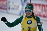 Biathlon: victoire de l'Italienne Wierer sur le sprint à Hochfilzen