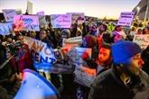 États-Unis: manifestation de réfugiés somaliens travaillant pour Amazon
