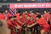 Léquipe nationale de football comblée de récompenses