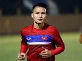 Quang Hai nommé meilleur joueur de lAFF Suzuki Cup 2018