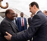 Le président soudanais s'est rendu à Damas pour rencontrer Assad