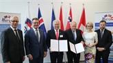 Signature dun accord économique entre lIndonésie et lAELE