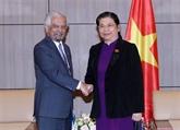 Un responsable onusien reçu par la vice-présidente de l'AN, Tong Thi Phong