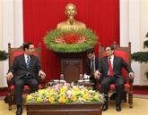 Vietnam - Japon: renforcement des relations entre deux Partis communistes