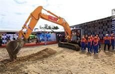 Quang Nam: construction dune ligne électrique à 500 kV