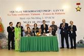 Renforcement de la coopération France - Vietnam en matière de santé