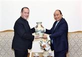 Le PM Nguyên Xuân Phuc reçoit une délégation du Saint-Siège