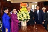 La présidente de l'Assemblée nationale adresse ses meilleurs vœux à l'archidiocèse de Hô Chi Minh-Ville