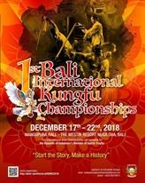 Ouverture de la première édition des Championnats internationaux de kung-fu de Bali
