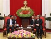 Une délégation de l'USDP du Myanmar en visite au Vietnam