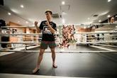 Le champion de kickboxing japonais Tenshin