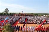Cambodge: célébration du 40e anniversaire de la fondation du Front uni national pour le salut du Kampuchéa