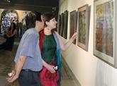 Exposition de peintures contemporaines hongro-vietnamiennes