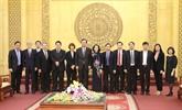 Une délégation du Parti communiste japonais en visite à Ninh Binh