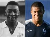 Pelé souhaite un bon anniversaire à Mbappé pour ses 20 ans