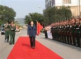 La présidente de l'Assemblée nationale visite la Ire Zone militaire