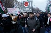 Hongrie: plusieurs milliers de manifestants contre la loi du travail