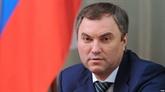 Le président de la Douma d'État de Russie entame sa visite officielle au Vietnam