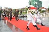 En mémoire des soldats volontaires vietnamiens tombés au Cambodge
