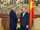 Le PM reçoit le secrétaire général p.i du Parti libéral-démocrate du Japon