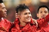 Football: Nguyên Quang Hai remporte le Ballon d'Or du Vietnam 2018