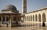 Syrie: réparation de la mosquée des Omeyyades