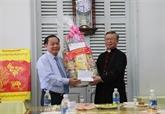 Noël 2018: meilleurs vœux aux catholiques et protestants à Cân Tho