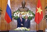 Le PM Nguyên Xuân Phuc reçoit le président de la Douma d'État de Russie