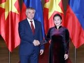 Le président de la Douma d'État russe termine sa visite officielle au Vietnam