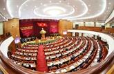 Ouverture du 9e Plénum du Comité central du PCV