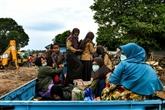 Les survivants du tsunami victimes de la faim et de la maladie