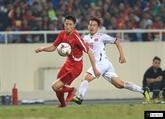 Football: match nul entre le Vietnam et la RPDC lors d'un match amical à Hanoï