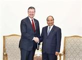 Le Premier ministre vietnamien reçoit l'ambassadeur des États-Unis à Hanoï
