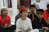 Cham, cours de langue à la mosquée